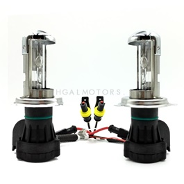 Motorized Black Body HID 55w Tubes With Wire Pair -SehgalMotors.Pk
