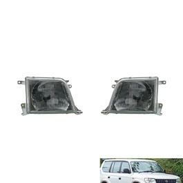 Toyota Land Cruiser Prado Headlight - Model 1996-2002-SehgalMotors.Pk
