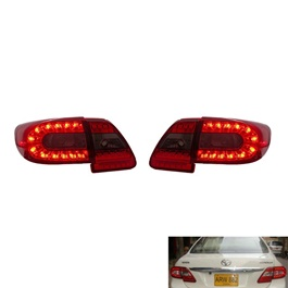 Toyota Corolla Eagle Eyes Red Smoke LED Back light - Model 2012-2014