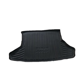 Toyota Prius 5D Trunk Mat - Model  2009-2017 | Trunk Boot Liner | Cargo Mat Floor Tray | Trunk Protection Mat | Trunk Tray Cover Pad-SehgalMotors.Pk