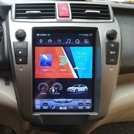 Honda City Tesla Style Lcd Multimedia System Android - Model 2008-2019-SehgalMotors.PK