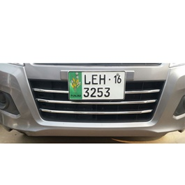 Suzuki Wagon R Front Chrome Strips - Model 2014 - 2018-SehgalMotors.Pk