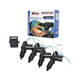 YOKO Car Central Locking Motor 4 pcs-SehgalMotors.Pk