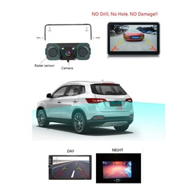 Maximus Reverse Camera With Double Parking Sensor and Warning Buzzer