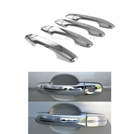 Toyota Hilux Revo Electroplated Chrome Handle Covers - Model 2016-2019-SehgalMotors.Pk