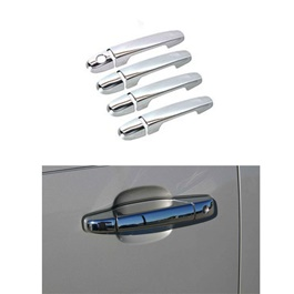 Toyota Vitz Electroplated Chrome Handle Covers - Model 1999-2004-SehgalMotors.Pk