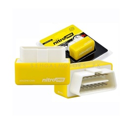 Car Nitro OBD2 Performance Chip Tuning Box Yellow