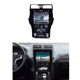 Toyota Prado Converted LCD Multimedia System Android GPS Tesla Style - Model 2018-SehgalMotors.Pk