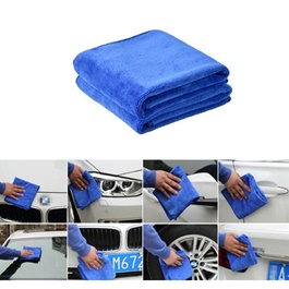 Microfiber Nano Towel Double Sided | Auto Car Natural Drying Clean Cloth | Cleaning Cloth | Car Cleaning Towels Drying Washing Cloth | Car Care Cloth Detailing Car Microfibre Cloth