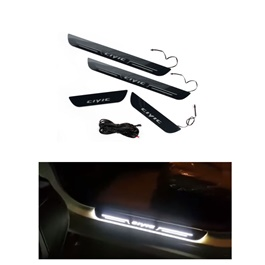 Honda Civic Sill Plates with LED Bar - Model 2016-2017-SehgalMotors.Pk