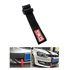 TRD Strap Tow Hook - Black | Towing Hook | Tow Hook Ribbon For Car | Modification Drift Decoration-SehgalMotors.Pk