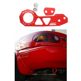 Password JDM Rear Tow Hook - Red  | Towing Hook | Tow Hook  For Car | Modification Drift Decoration-SehgalMotors.Pk