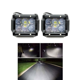 SMD LED Cree Bar With Nano Projection Lens - Pair-SehgalMotors.Pk