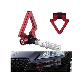 Triangular Front Tow Hook | Towing Hook | Tow Hook Dummy For Car | Modification Drift Decoration-SehgalMotors.Pk