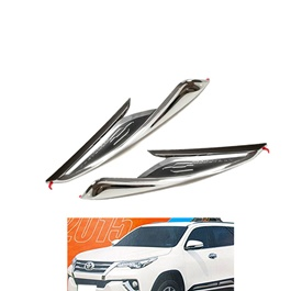 Toyota Fortuner Headlight Chrome Cover - Model 2016-2019-SehgalMotors.Pk