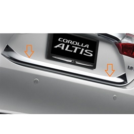 Toyota Corolla Back Lid Chrome - Model 2017-2019-SehgalMotors.Pk