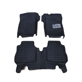 Suzuki Wagon R 5D Custom Floor Mat Black - Model 2014-2019-SehgalMotors.Pk