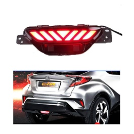 Toyota CHR Back Middle Bumper Brake Lamp Warning Tail LED Light - Model 2017-2019-SehgalMotors.Pk