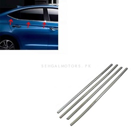 Honda City Weather Strip Chrome - Model 2009-2017-SehgalMotors.Pk