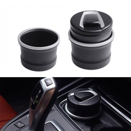 BMW Style Portable Car Ashtray For Smokers With LED Large-SehgalMotors.Pk