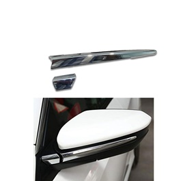 Honda Civic Side Mirror Chrome Trim - Model 2016-2019-SehgalMotors.Pk