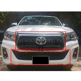 Toyota Hilux Revo to Rocco V1 OEM Conversion / Upgrade Kit Model 2018 -SehgalMotors.Pk