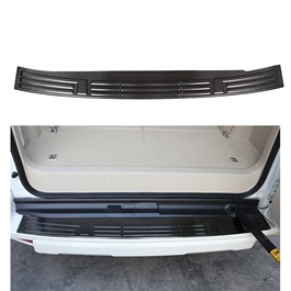 Toyota Prado Rear Bumper Protector Black - Model 2009-2019-SehgalMotors.Pk