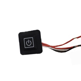 Power Button Extra Switch to Operate Electronics in Cars-SehgalMotors.Pk