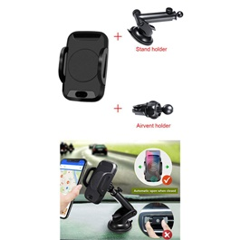 Automatic Mobile Infrared Sensor Holder & Wireless Charger-SehgalMotors.Pk