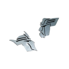 Transformers Metal Monogram Chrome	2 Pc-SehgalMotors.Pk