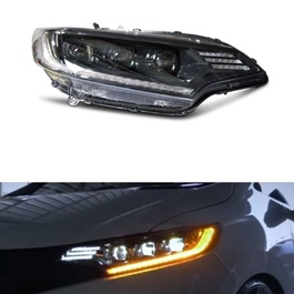 Honda Fit Sequential LED Headlight / Head Lamp - Model 2013-2019-SehgalMotors.Pk