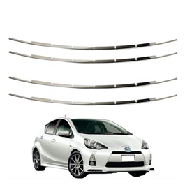 Toyota Aqua Front Chrome Grille - Model 2012-2019-SehgalMotors.Pk