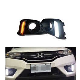Honda Fit DRL Cover Dual Colour - Model 2013-2017-SehgalMotors.Pk