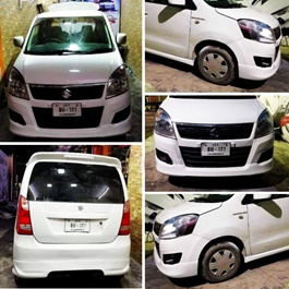 Suzuki Wagon R Body Kit / Bodykit Fiber  - Model 2014-2019-SehgalMotors.Pk