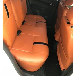 Suzuki Swift Seat Covers Orange with Black Strips - Model - 2010-2020-SehgalMotors.Pk