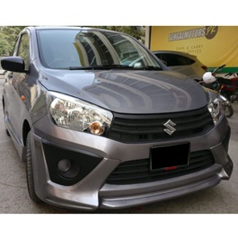 Suzuki Cultus Hekari Style Body Kit / Bodykit  Plastic Front And Back 2 PCS New Model - Model 2017-2021-SehgalMotors.Pk