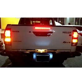 Toyota Hilux Revo Ironman Back Bumper - Model 2016-2019