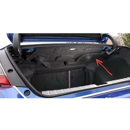 Honda Civic Trunk Under Speaker Garnish - Model 2016-2020 | Noise Reduction | Trunk Protector | Namda-SehgalMotors.Pk