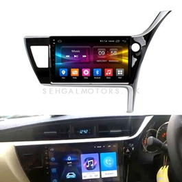 Toyota Corolla Facelift Android Panel 9 Inch - Model 2017-2018-SehgalMotors.Pk