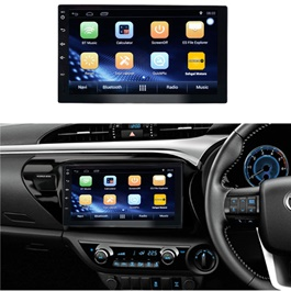 Toyota Hilux Vigo Android LCD Multimedia Navigation System - Model 2005-2016-SehgalMotors.Pk
