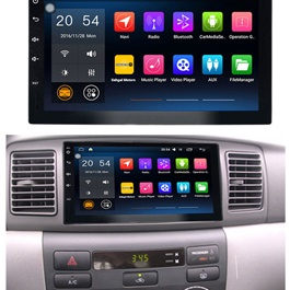 Toyota Corolla Android Multimedia Navigation System - Model 2002-2008-SehgalMotors.Pk