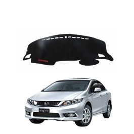 Honda Civic Dashboard Carpet Black - Model - 2012 - 2016-SehgalMotors.Pk