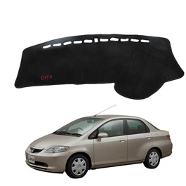 Honda City Dashboard Carpet For Protection and Heat Resistance Black - Model - 2003 - 2008-SehgalMotors.Pk