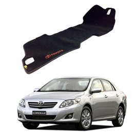 Toyota Corolla Dashboard Carpet For Protection and Heat Resistance - Model 2009-2010-SehgalMotors.Pk