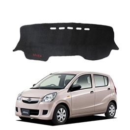 Daihatsu Mira Dashboard Carpet For Protection and Heat Resistance - Black-SehgalMotors.Pk