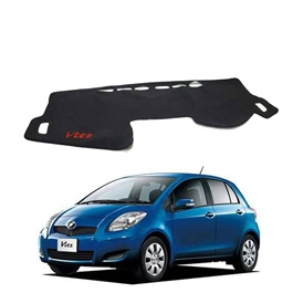 Toyota Vitz Dashboard Carpet For Protection and Heat Resistance with Logo - Model 2004-2011
