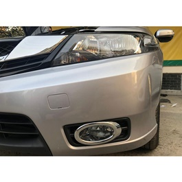 Honda City DLAA Fog Lamps / Fog Lights with Chrome trim Cover - Model 2014-2020 - HD536E-SehgalMotors.Pk