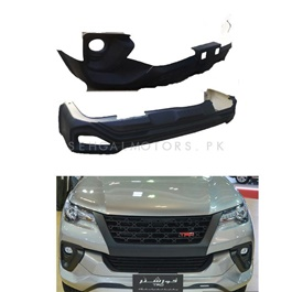 Toyota Fortuner TRD Style Body Kit / Bodykit Black- Model 2016-2019-SehgalMotors.Pk
