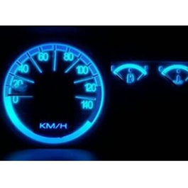 Suzuki Mehran Blue LED SpeedoMeter Variant 2 - Model 2007-2017-SehgalMotors.Pk