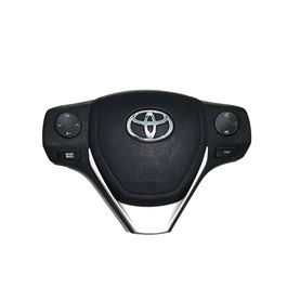 Toyota Corolla Multimedia Steering With Durable Horn Pad And Air Bag Supply - Model 2014-2017	-SehgalMotors.Pk